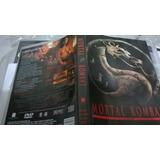 Mortal Kombat O Filme Dvd Original Novo Encarte Interno