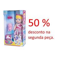 Promoção Boneca Babys Collection Festa Animada 417
