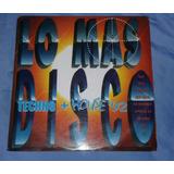 Lo Mas Disco Techno House 92 Vol 1/ Lp Ariola Bmg 1993 Col