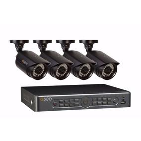 Kit Camaras Seguridad Qsee Dvr 8ch+4 Cam+disco 1tb