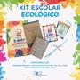 Kit Escolar Ecológico - Fundación Garrahan