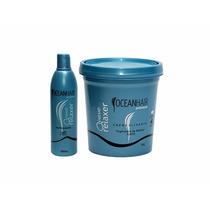 Kit Alisante Wave Relaxer Ocean Hair Tioglicolato De Amônia