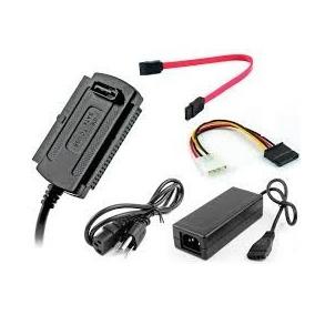 Cable Adaptador Sata-ide A Usb 2.0 Con Fuente Videcom
