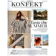 Revista Konfekt Uk Moda,viagens,luxo E Bastidores Negocios