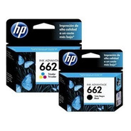Cartuchos Hp 662 Negro + Color Combo Originales P 2515 3515