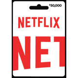 Tarjeta Netflix | Pin De Recarga Original | Pin De 50000