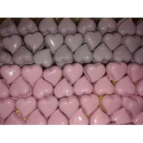 50 Mini Corações Sabonetes Artesanais