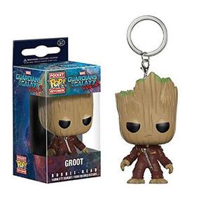 Chaveiro Funko Pop Baby Groot Guardiões Da Galáxia Vol 2