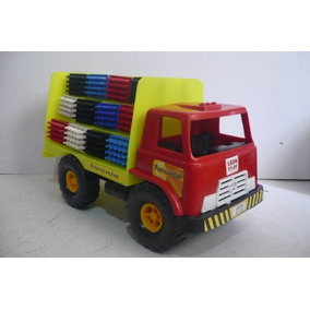Camion Repartidor De Refrescos - Camioncito Juguete Escala