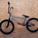 Bicicleta Bmx Rodado 20 Glint Expert Cromado Raw Adult Mdq C