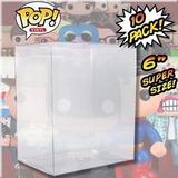 Plastico Protector Flexible (10 Unidades) Para Funko Pop