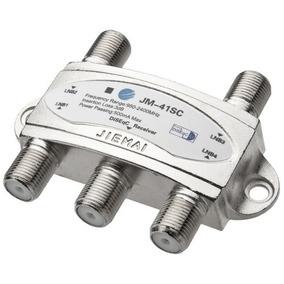 Chave Diseqc 4x1 Comutador 4 Antenas Diseqc 2.0 Tone Burst