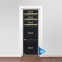 Adesivo 123 Porta Acdc Ac Dc Angus Young Marshall