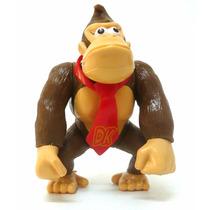 Boneco Donkey Kong Coleção Super Mario Bros Nintendo Pvc