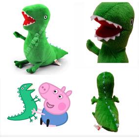 Dinossauro Pelúcia Peppa Pig, George Pig Brinquedo Infantil
