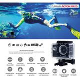 Camara Video Deportiva 4k Wifi Sumergible Hdmi Go Gear Pro