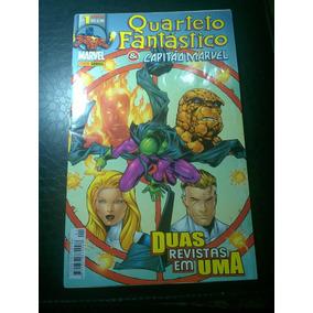 Hq Quarteto Fantástico E Capitão Marvel Nº1 Panini 2002