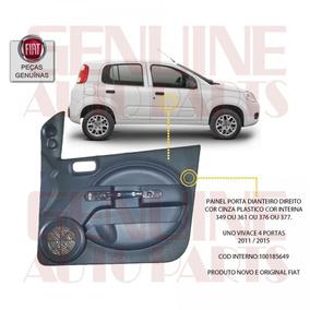 Forro Porta Fiat Novo Uno Vivace 4 Pta - Dianteira Direita