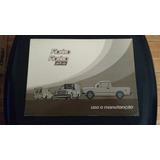Manual Fiat 147 Pick Up Fiorino Raro Original -