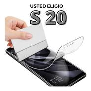 Film Hidrogel Curvo Samsung S20 S20 Fe S20 Plus S20 Ultra