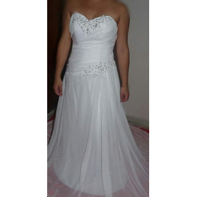 Vestido De Noiva Novo Importado Pronta Entrega + Véu E Tiara