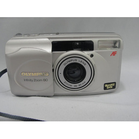 Antiga Camera Fotografica Analogica Olympus Infinity Zoom 80