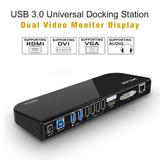 Wavlink Usb 3.0 Universal Docking Station, Monitor De Víd