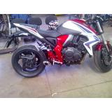 Escapamento Espotivo Top Race Honda Cb 1000cc 2013 A 0km