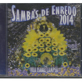 Cd - Carnaval 2014- Sambas Enredo Do Rio De Janeiro- Lacrado