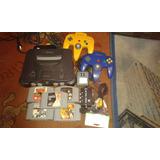 Nintendo 64 , En Oferta !!! Copleto Con Juegos Y Funcionando