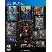 Kingdom Hearts All In One Ps4 Físico Selllado Original Ade