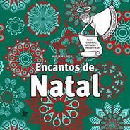 Encantos De Natal Livro De Colorir Destacar E Presentear
