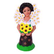 Escultura Vendedora De Flores. Aripo