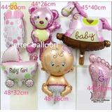 Globos Metalizados Baby Shower Bebe Nacimiento Bebe