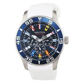 Reloj Náutica A12629g Blanco Envio Inmediato Gratis