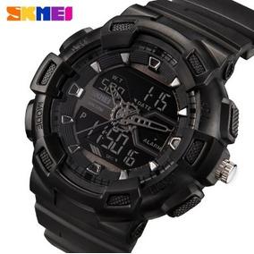 0e5e8940ffd Relógio Skmei Shock Fashion Digital Militar Prova D água