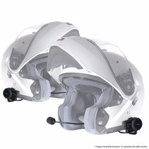 Kit De Intercomunicadores Para Moto Mt 602 -tipo Scala Rider