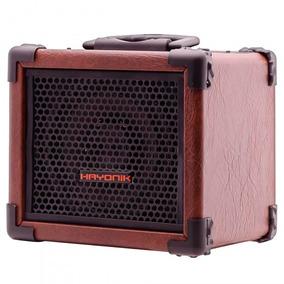 Caixa Amplificador Multiuso Hayonik Iron 80 Marrom- Refinado