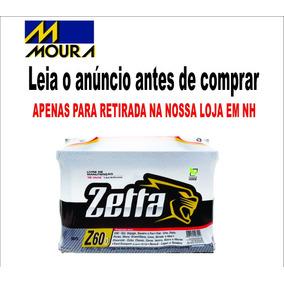 Bateria Automotiva Zetta Moura Z60d 60 Ah Direita Original