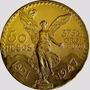 Moneda Mexicano De Oro De 50 Pesos $29000