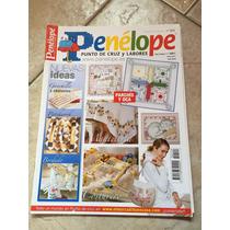 Revista Penélope Ponto Cruz E Labores 120 Importada Bordado