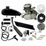 Kit Motor Bicicleta Motorizada Gasolina 80cc 2t Completo