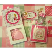 Caja Personalizada Jabón Recuerdo Bautizo Baby Nacimiento Xv