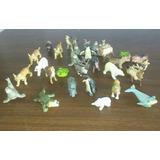 31 Figuras Animales Realistas Para Maquetas Juguetes 6x4cm