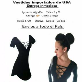 Vestido Negro Importado De Usa