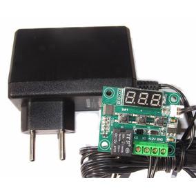 Termostato W1209 Arduino Chocadeira + Fonte