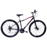 Bicicleta Aro 29 Freio A Disco Mega Sport Gold Mountainbike