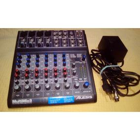 Mixer Interface De Audio Alesis 8 Multimix 2.0
