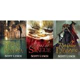 Trilogia Livros - Nobres Vigaristas - Scott Lynch