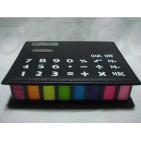 Estojo Organizador Post It S C/calculadora E Lembretes E Rec